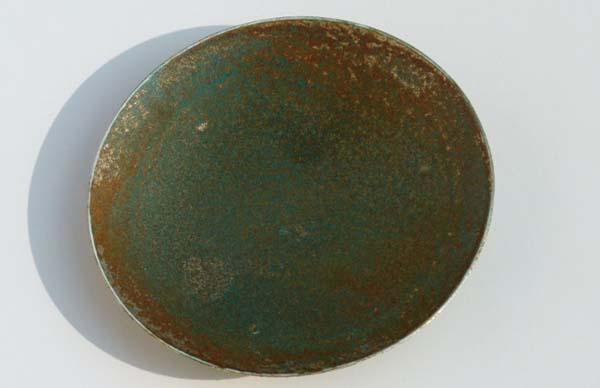 peinture effet bronze antique donne auxsurfaces un aspect oxyd. Black Bedroom Furniture Sets. Home Design Ideas